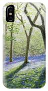 Bluebell Wood IPhone Case