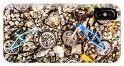 Bmx Pebble Race IPhone Case