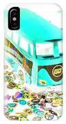 Boho Blue IPhone X Case