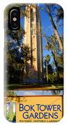 Bok Tower Gardens Poster A IPhone Case