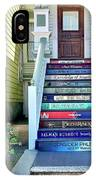Book Stairs House IPhone Case