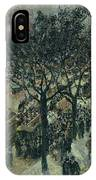 Boulevard Des Italiens - Afternoon, 1987 IPhone Case