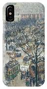 Boulevard Des Italiens - Morning, Sunlight, 1897 IPhone Case