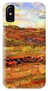 Bountiful Bovine - Everton, Arkansas IPhone Case by Lourry Legarde