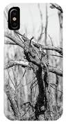 Branches In Black And White IPhone Case