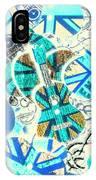 Britain Blues IPhone X Case