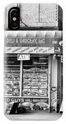 Brooklyn Deli Black White  IPhone Case