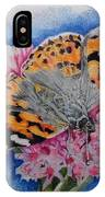 Butterfly At Lunch IPhone Case