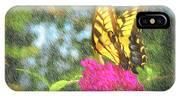 Butterfly Likeness  IPhone Case