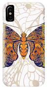 Butterfly Zen Meditation Abstract Digital Mixed Media Artwork By Omaste Witkowski IPhone Case by Omaste Witkowski
