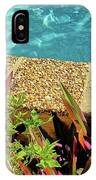By The Pool IPhone Case
