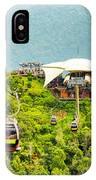 Cable Car On Langkawi Island, Malaysia IPhone X Case