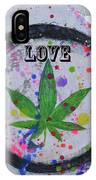 Cannabis With Love IPhone Case