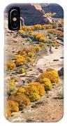 Canyon De Chelley Autumn IPhone Case