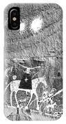 Canyon De Chelley Pictographs IPhone Case