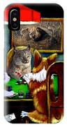 Cats Are Wild Poker IPhone Case