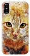Cat's Eye IPhone X Case