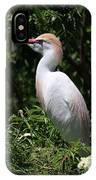 Cattle Egret With Breeding Feathers IPhone Case