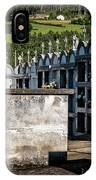 Cemetery Vaults IPhone Case by Tom Singleton