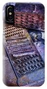 Cheese Grater 30 IPhone Case