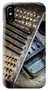 Cheese Grater 33 IPhone Case