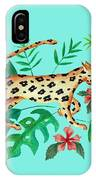 Cheetah's Hunt IPhone Case