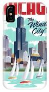 Chicago Poster - Vintage Travel IPhone Case