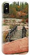 Chikanishing Trail Boardwalk II IPhone Case