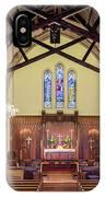 Christ Episcopal Interior IPhone Case