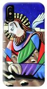Christ Will Come Again IPhone Case by Anthony Falbo