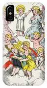 Christmas Fairy Tale IPhone Case