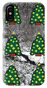 Christmas Trees IPhone Case