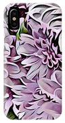 Chrysanthemum Abstract. IPhone Case