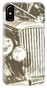 Classic Car Chrome IPhone Case