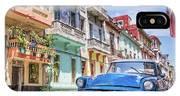 Classic Car Havana 8x10 IPhone X Case