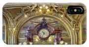 Clock At Le Train Bleu IPhone X Case