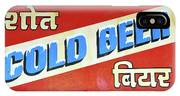 Cold Beer In India IPhone Case