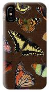 Collage Of Ca Butterflies IPhone Case