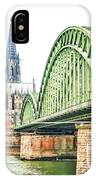 Cologne Cathedral IPhone Case by Fran Riley