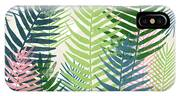 Colorful Palm Leaves 2- Art By Linda Woods IPhone Case