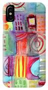 Colorful Patchwork 1- Art By Linda Woods IPhone X Case