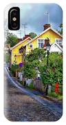 Colorful Scandinavian Houses IPhone Case by Anthony Dezenzio