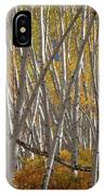 Colorful Stick Forest IPhone X Case
