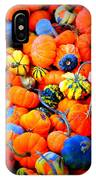 Colorful Tiny Pumpkins IPhone Case