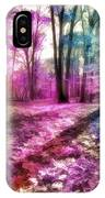 Colorful Trees Xii IPhone Case
