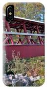 Colvin Covered Bridge IPhone Case