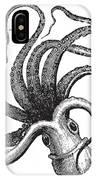 Common Octopus Octopus Vulgaris IPhone X Case