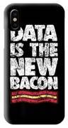 Computer Big Data Bacon Geek Pun Apparel IPhone Case