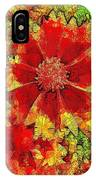 Coreopsis Abstract IPhone Case