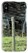 Cow By The Old Barn, Earlville Ny IPhone Case by Gary Heller